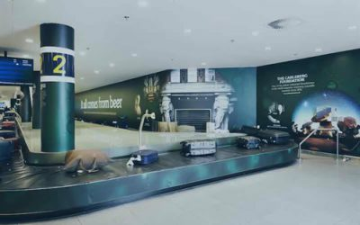 Carlsberg's Anniversary Begins In Copenhagen Airport